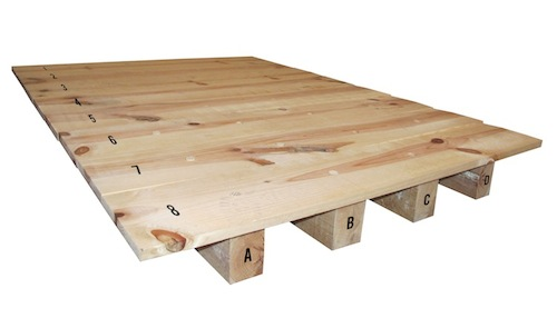 Bases para cama imagui for Como hacer una base de cama