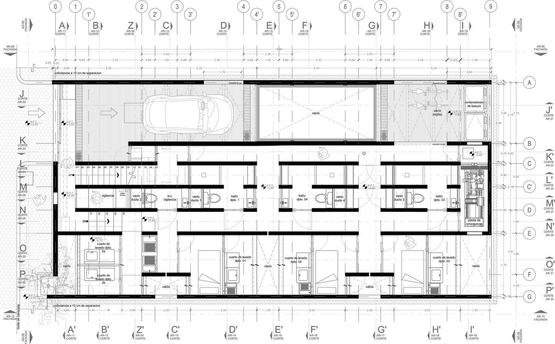 Aprdelesp for Ejes arquitectonicos